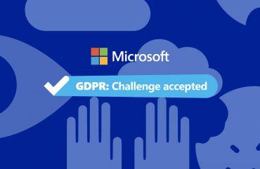 Microsoft, GDPR